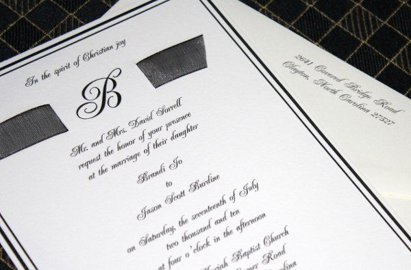 Tmx 1277761463337 Brandi2 Raleigh wedding invitation