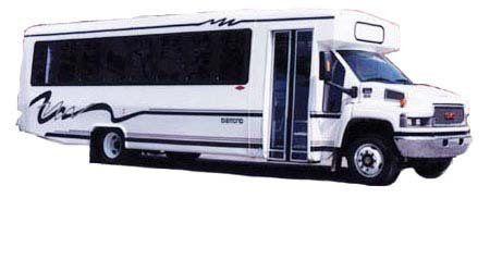 Luxury Passenger Coach Bus