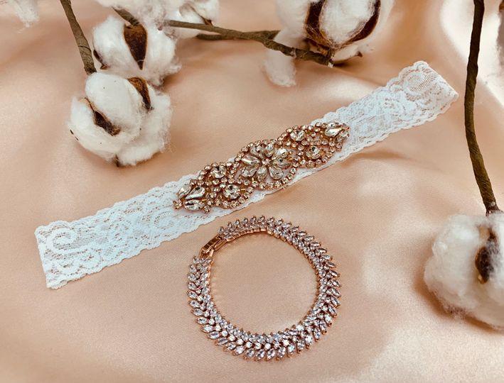 Evanna's Bridal accessories