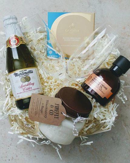 ceh flora gift co anniversary box