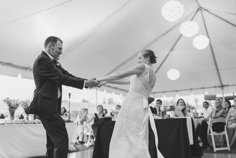 An unforgettable first dance
