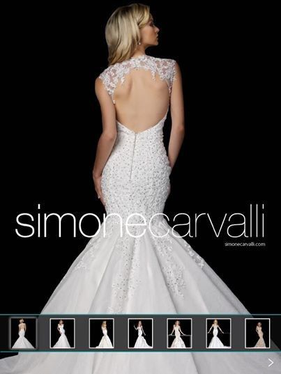 Tmx 1394078133212 Simonecarvallilowbac Andover wedding dress