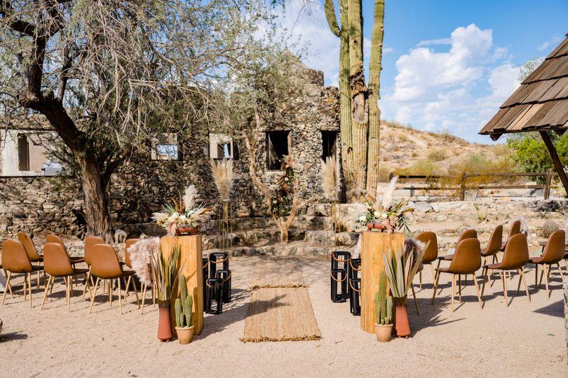 Desert Boho Ceremony