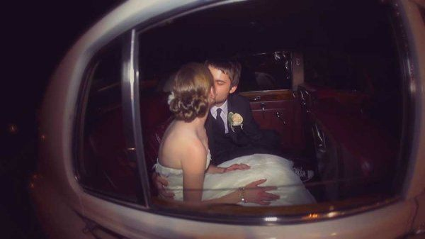 Kiss in the Limo
