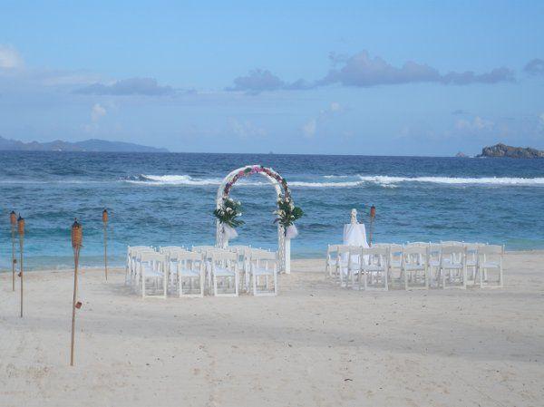 Tmx 1279297885793 PictureBeachSetup2St.Maarten Brooklyn wedding planner