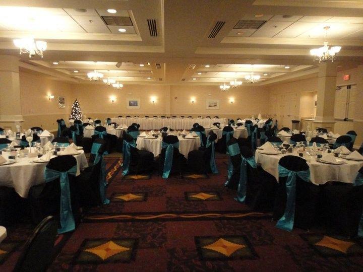 Tmx 1444237073842 Black Chairs Blue Sashes Grand Forks wedding venue