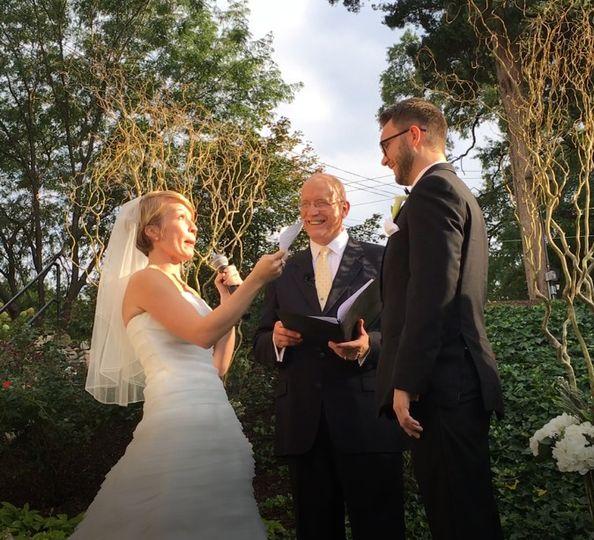 Bride's vow