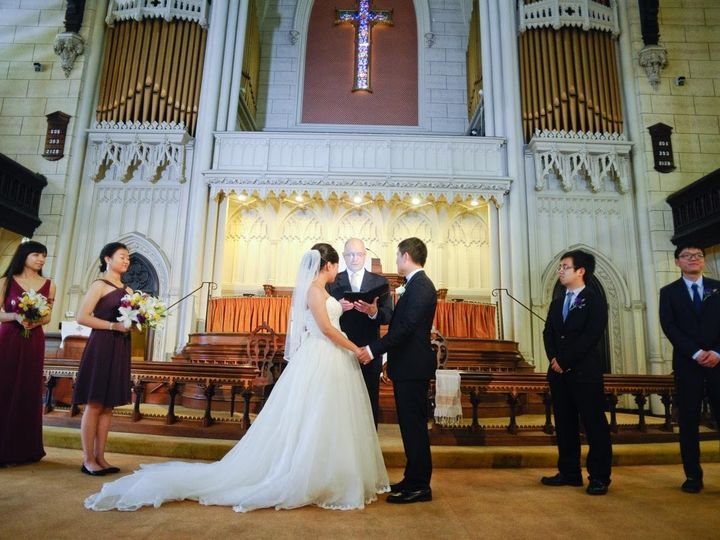 Tmx 1483073781261 Xingtin Yu And Xu Yang At Mt. Vernon Meth. Church  Baltimore, Maryland wedding officiant