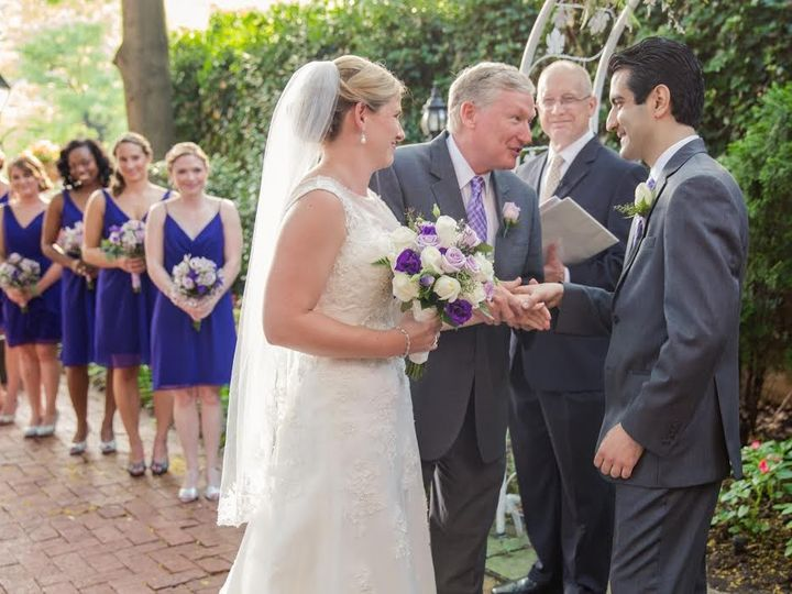 Tmx 1483085814334 Lauren And Sina 062015 1840s 3 Baltimore, Maryland wedding officiant