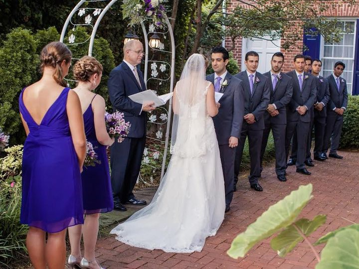 Tmx 1483085845280 Lauren And Sina 062015 1840s 1 Baltimore, Maryland wedding officiant