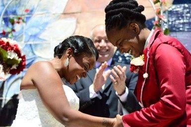 Tmx 1483158935973 Sherrece And Chiquita Eubie Blacke 082215 Baltimore, Maryland wedding officiant