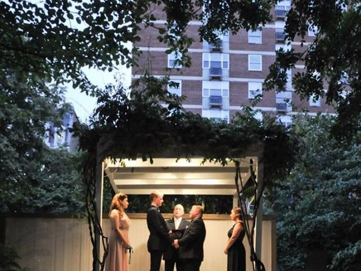 Tmx 1483159143652 Aaron And Charles At Chase Court Baltimore, Maryland wedding officiant