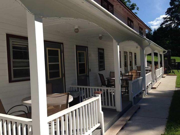 motel at homestead farm resort back