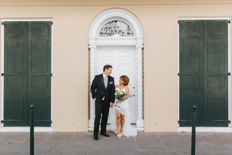 French quarter elopement