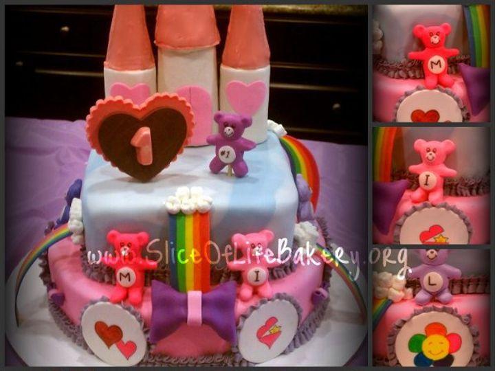 Tmx 1333153238562 CareBearsCollage Temecula wedding cake