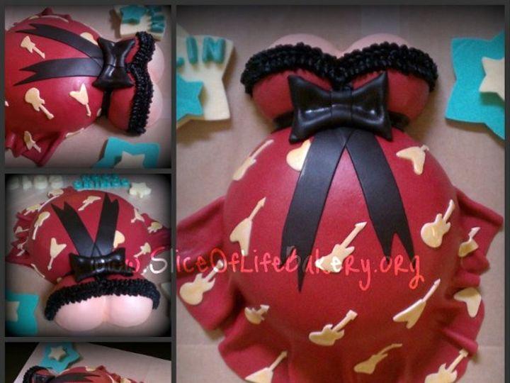 Tmx 1333153265769 RockerBumpCollage Temecula wedding cake