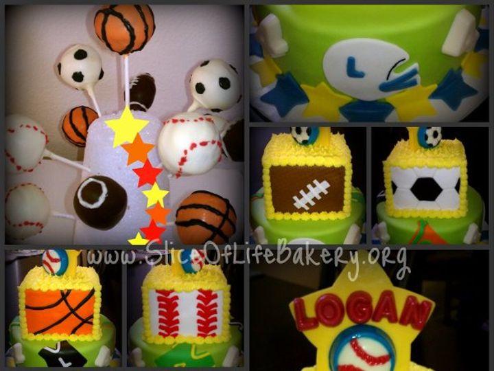 Tmx 1333153269048 SportyCollage Temecula wedding cake