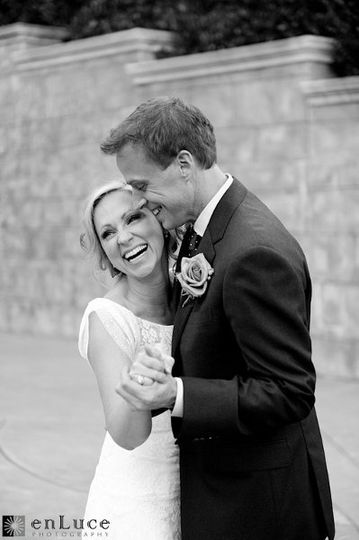 Actress Leigh-Allyn Baker after renewing her vows to her sweet husband ~ photo courtesy of EnLuce...