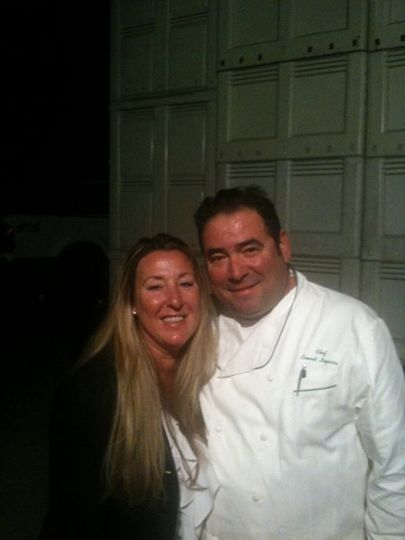 Honored to plan event for Kosta-Browne Winery featuring Chef Emeril Lagasse