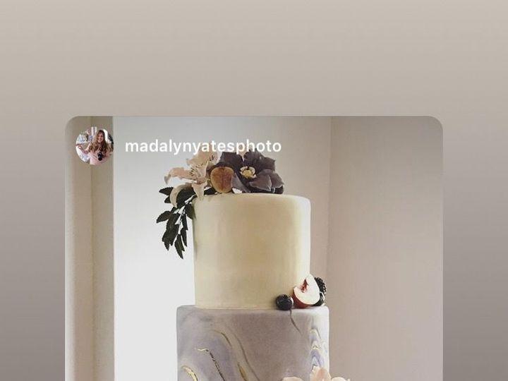 Tmx 1539021298 8f4e18f399b74137 1539021298 A30e42eac4beab63 1539021299636 2 IMG 2915 Winston Salem, North Carolina wedding cake