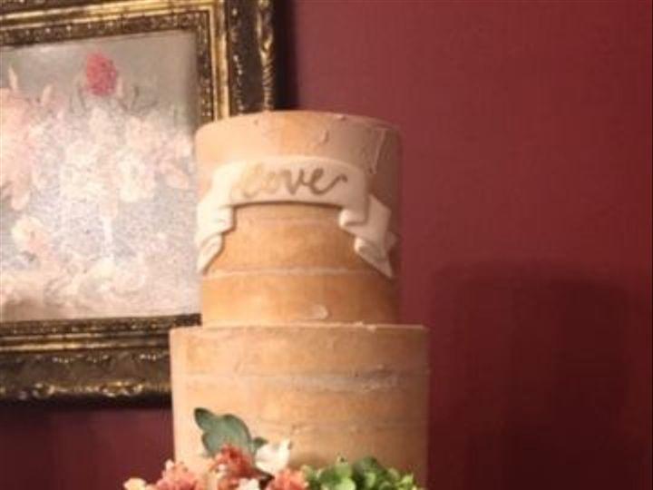 Tmx 1539021304 Bb6d5362a01a6e0f 1539021303 2e93b28089aba933 1539021305072 4 IMG 2850 Winston Salem, North Carolina wedding cake