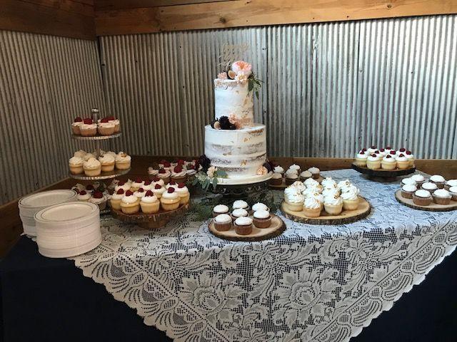 Tmx 1539021356 40549b9230a79fdb 1539021355 D53a10a9e3771793 1539021356891 15 IMG 2729 Winston Salem, North Carolina wedding cake