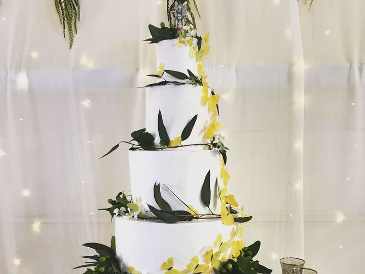 Tmx 1539021373 Dd108e3d0f7a7422 1539021373 C4b71321168aff71 1539021374654 17 Buttercream And B Winston Salem, North Carolina wedding cake