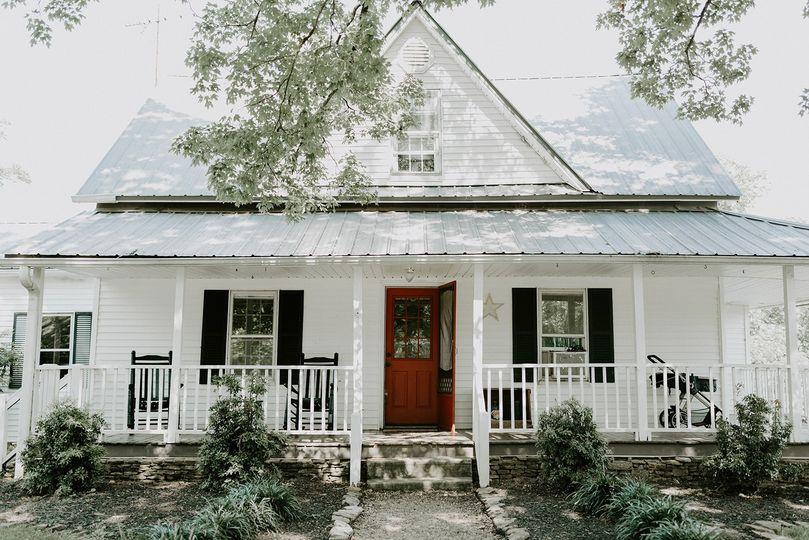 Farmhouse with bridal suite