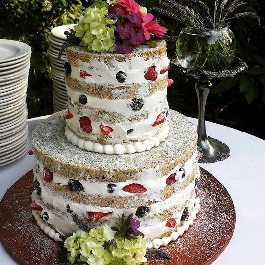 Papa Haydn Wedding Cake Portland OR WeddingWire