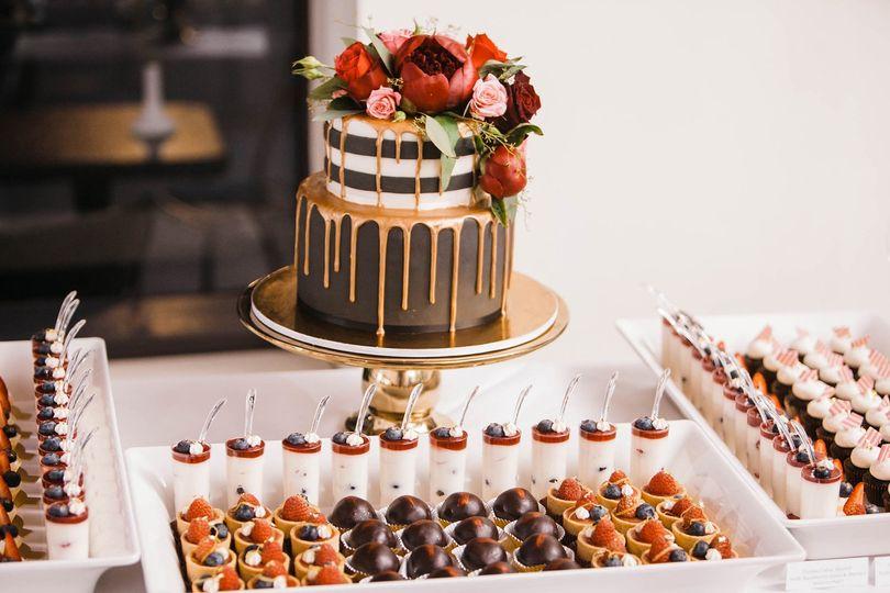 Papa Haydn cake & minis