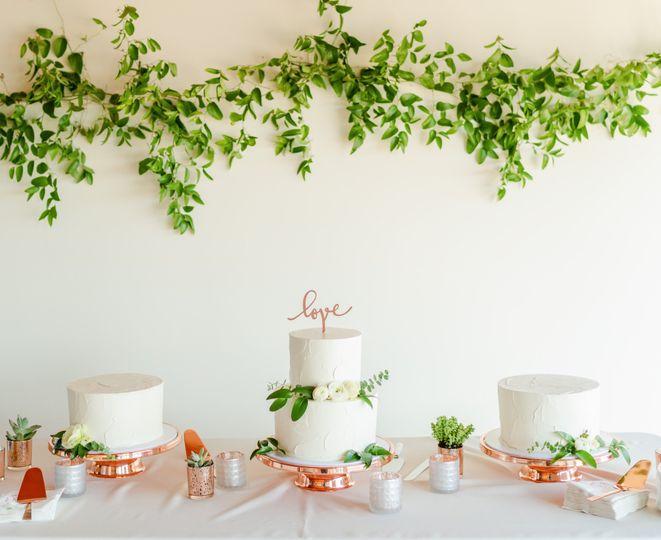 Papa Haydn wedding cakes