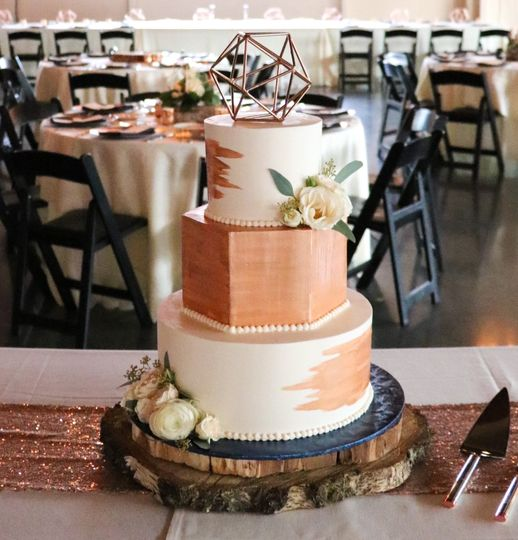 Papa Haydn wedding cake