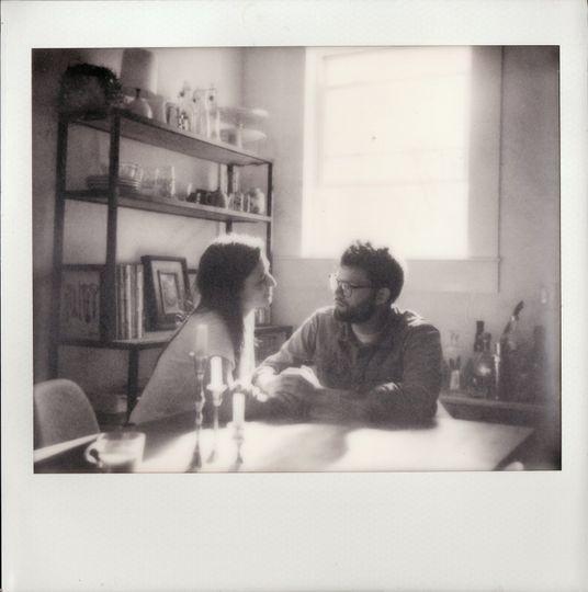 In-home Polaroid session