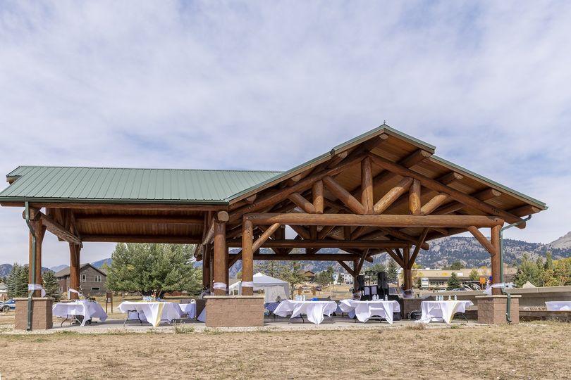 Pavilion setup