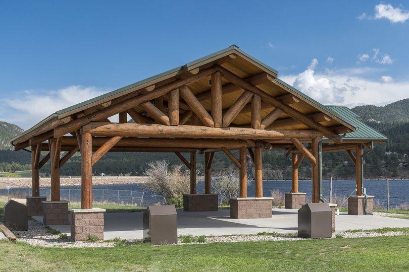 Lake estes marina pavilion