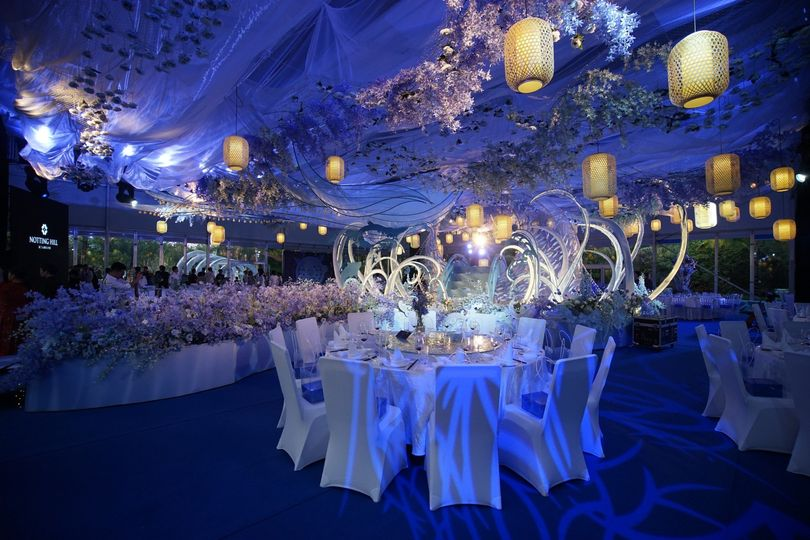 Design your wedding in marquee