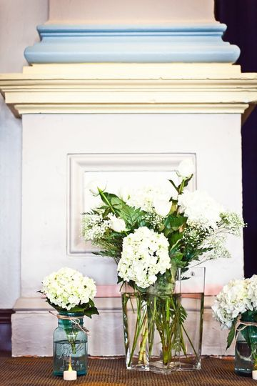 Decorate according to style, using the architectural elements of our Beaux Arts style building.
