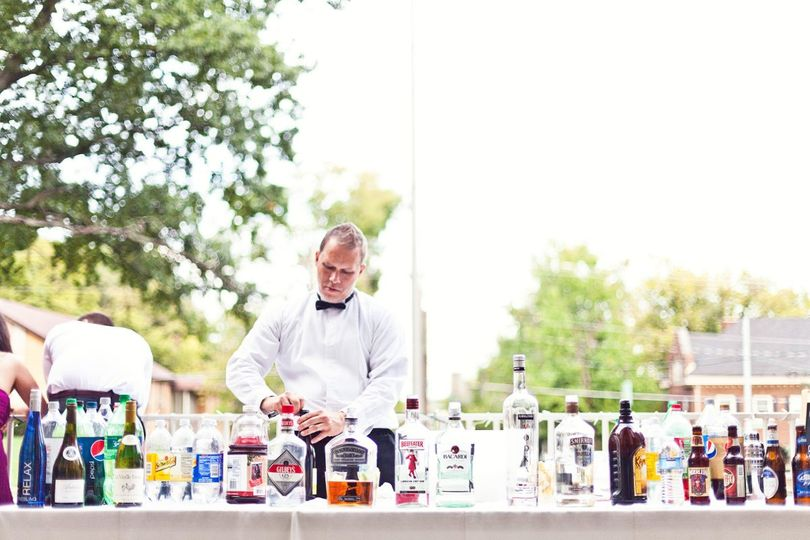Bring in your own bar tending and catering service.