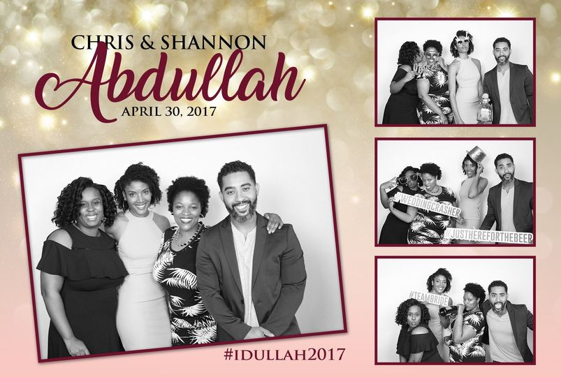 This is a sample of a custom overlay created for the bride and groom. We provide the graphic design...