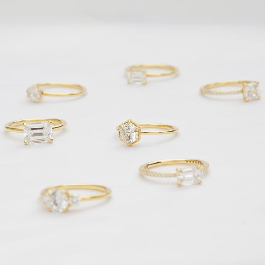 Wide selection of rings