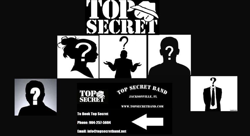 Top Secret Band poster