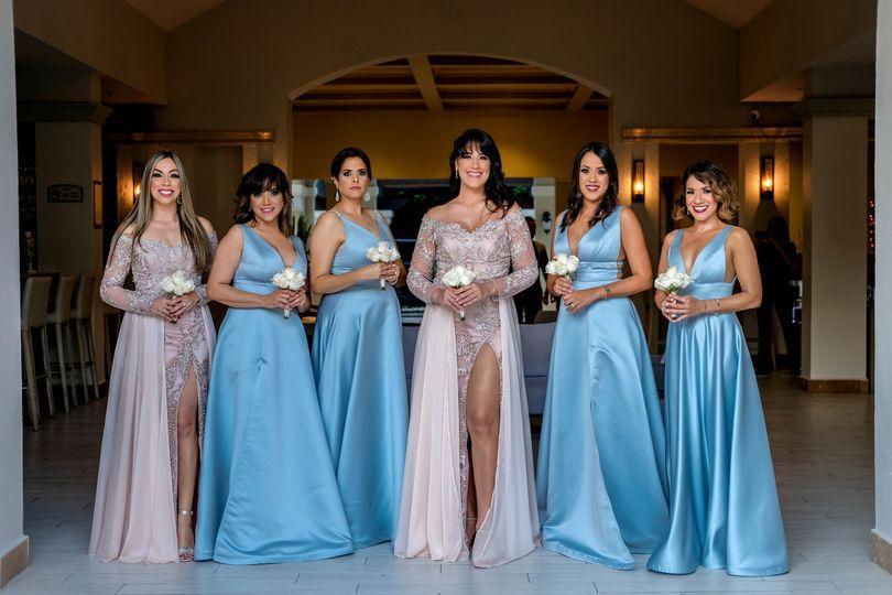 M&W Wedding Entourage