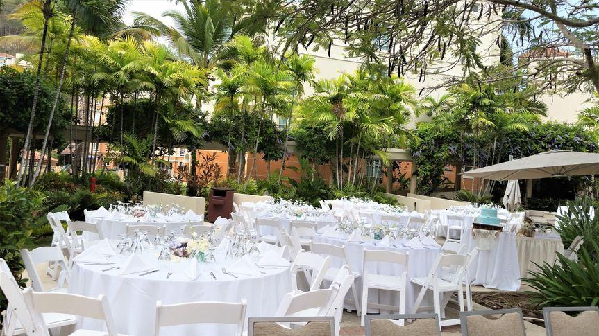 Courtyard Flamboyan