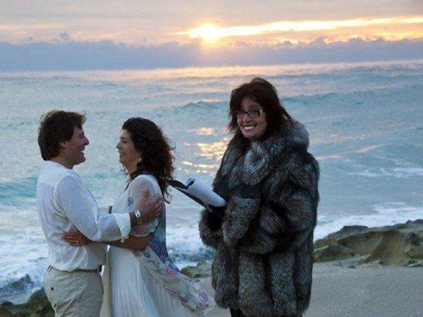 Tmx 1335559198564 AustralianCouple30DegreesbutLoveNeverFails Venice wedding officiant