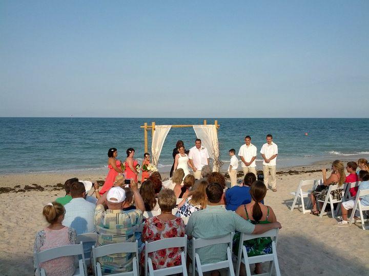 Tmx 1343315468953 CostaBeachWedding2 Venice wedding officiant