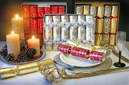 Party cracker display