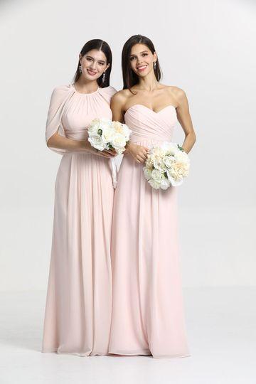 Rose Quartz bridal party