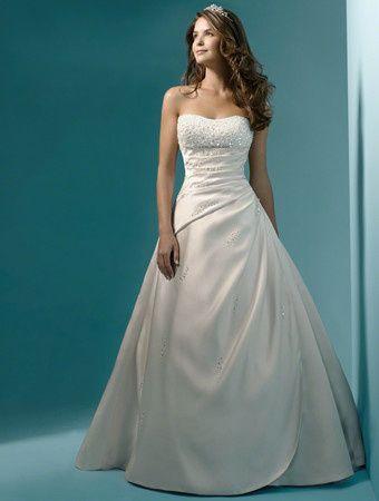 Tmx 1383080146078 Alfred Angelo Dress Style 1136 Fron Parkville wedding dress