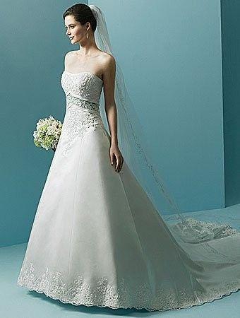 Tmx 1383080185206 Alfred Angelo Dress Style 1708 Fron Parkville wedding dress
