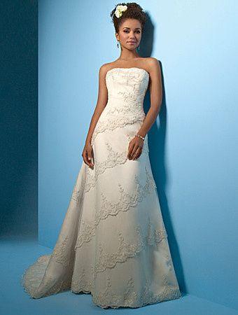 Tmx 1383080195953 Alfred Angelo Dress Style 2001 Fron Parkville wedding dress
